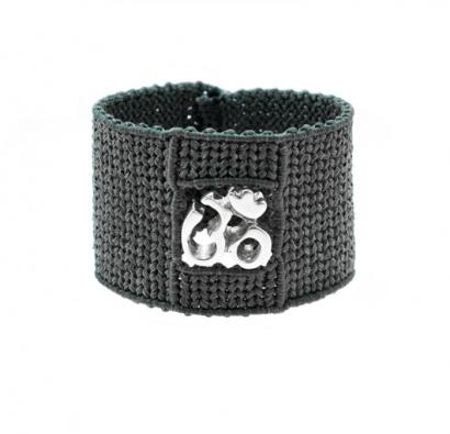Bold Om Bracelet