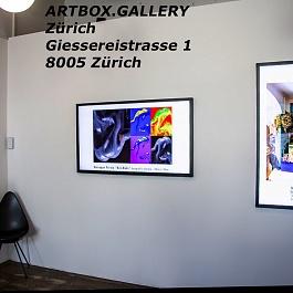 ARTBOX.GALLERY Zürich Giessereistrasse 1 8005 Zürich Switzerland Phone +41 79 788 02 02