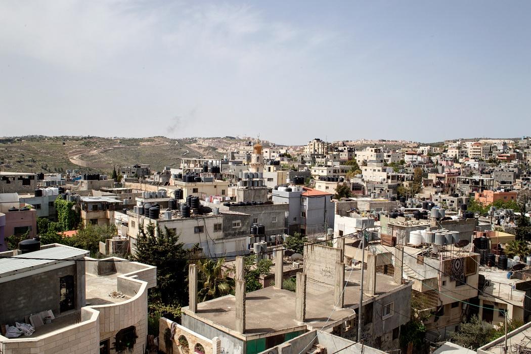 Campo profughi di Dheisheh, Palestina, 2019 - Il campo, allestito nel 1948 dalle Nazioni Unite per ospitare circa 5000 profughi, ospita oggi circa 17000 persone.