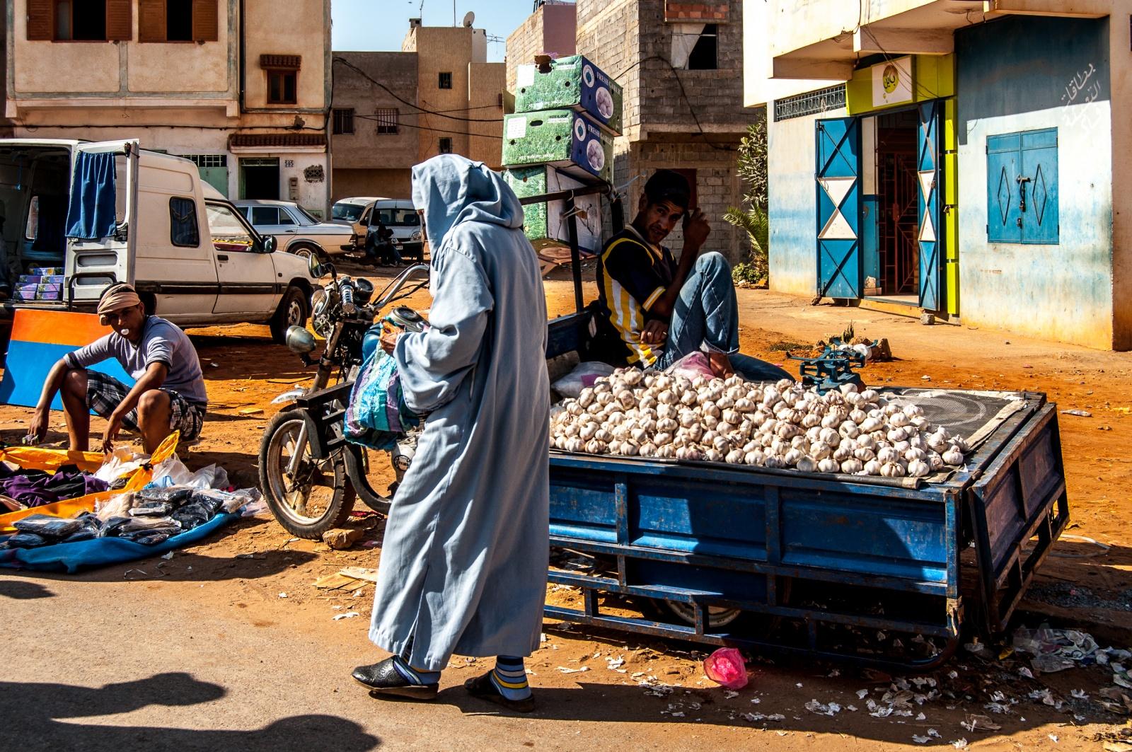 Moroccan People - Souk Sebt Temara Rabat