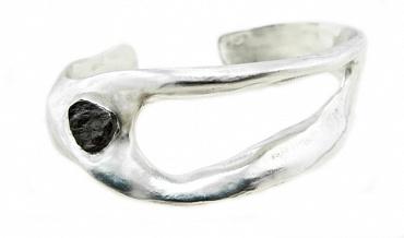 Holes - Silver, Meteorite