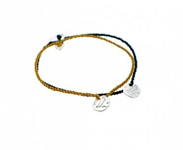 Ganesha - Silver, Cotton