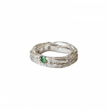 Mito Bands A Silver/Emerald