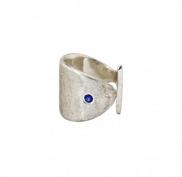 Spigolo Silver/Sapphire
