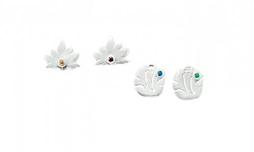 Lotus-Ganesha Earrings