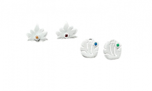 Lotus-Ganesha Earrings