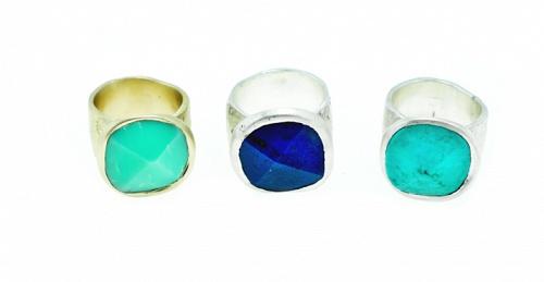 Ritovamenti  Chrysoprasus-Lapis-Turquoise