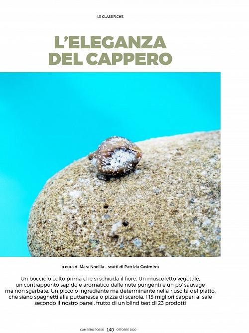 Capperi - Gambero Rosso - Ottobre 2020