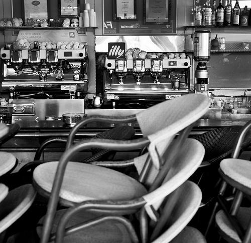 """Rome-Italy Lockdown 2020""""Cafè Elite"""""""