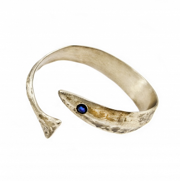 Bracelet Aguglia - €300   Details  Sapphire Bronze High Polished Finish Nickel-free Handmade Engraved with Patrizia Casamirra Jewels Logo