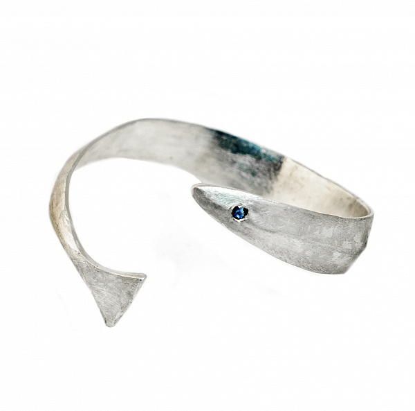 Aguglia  - €385   In stock ready for shipment  Details  Sapphire Bold 925 Sterling Silver High Polished Finish Nickel-free Handmade Engraved with Patrizia Casamirra Jewels Logo