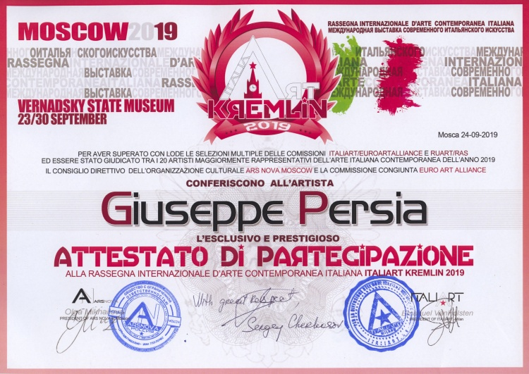 Cliccare sull'immagine per il video del vernissage - © Giuseppe Persia - giuseppepersia.it